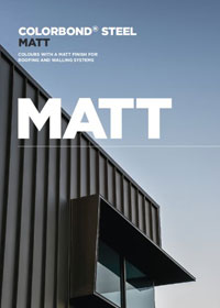 DOWNLOAD COLORBOND® steel Matt Colour Chart